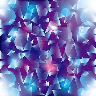 Fondo poligonal diseño de fondo de pantalla gráfico vectorial