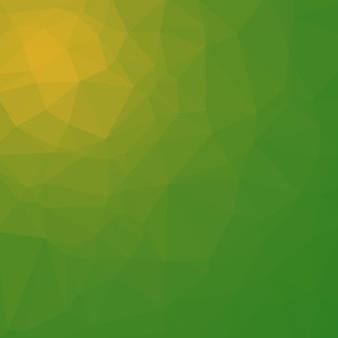 Fondo poligonal en tonos verde lima y lima