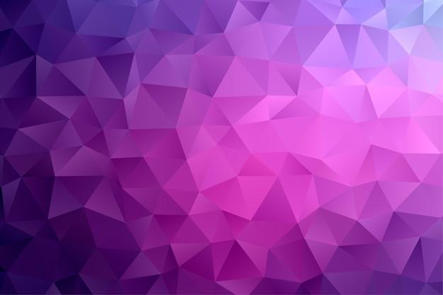 Fondo poligonal geométrico abstracto. fondo colorido poli baja.