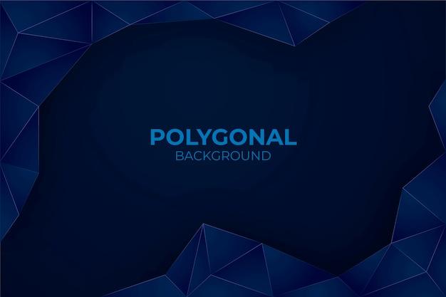 Fondo poligonal realista