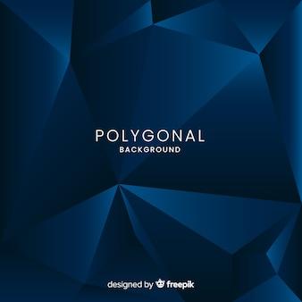 Fondo poligonal