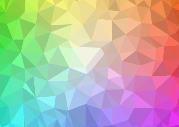 Fondo de polígono colorido o resumen de vector
