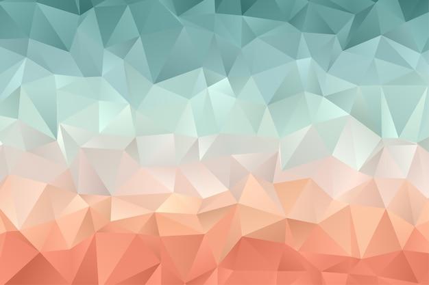 Fondo de polígono geométrico. papel pintado de diamantes. patrón elegante en color suave