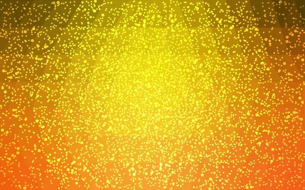 Fondo de polígono de navidad vector amarillo