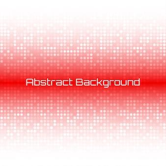 Fondo de portada de negocios de tecnología roja brillante abstracta