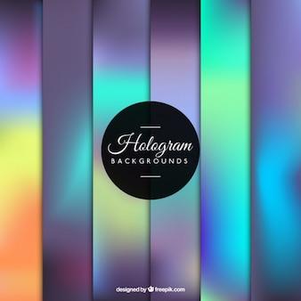 Fondo precioso de holograma