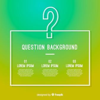 Fondo de preguntas