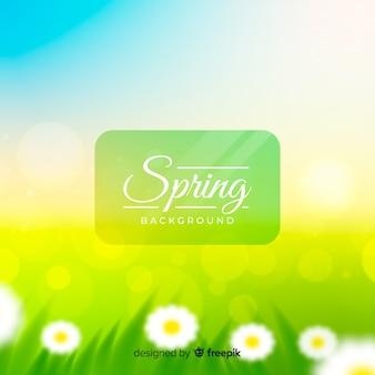 Fondo primavera brillante