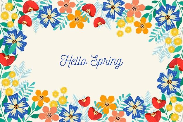 Fondo de primavera