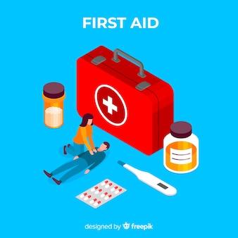 Fondo primeros auxilios