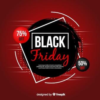 Fondo de promoción de viernes negro degradado