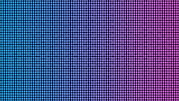 Fondo de proyección de pantalla macro textura led.