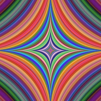 Fondo psicodélico colorido