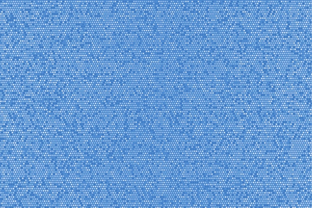 Fondo punteado brillante azul brillante abstracto