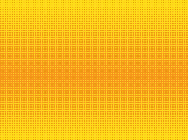 Fondo punteado naranja y amarillo