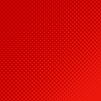 Fondo con puntos de semitono rojos