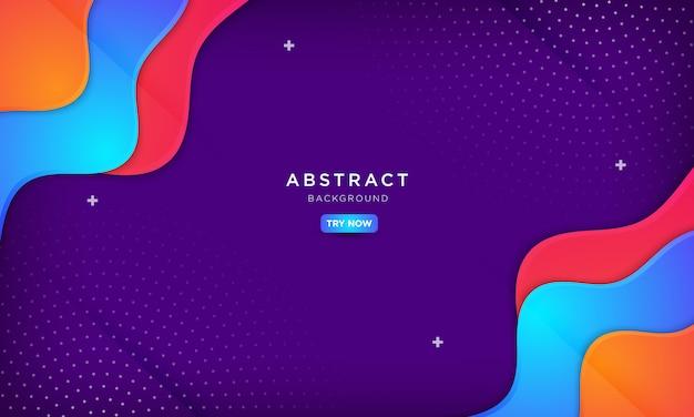 Fondo púrpura abstracto, fondos creativos abstractos.