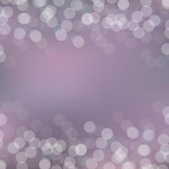 Fondo púrpura de bokeh con bokeh,