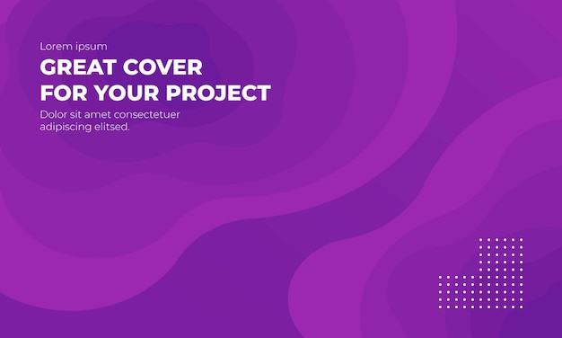 Fondo púrpura colorido abstracto moderno