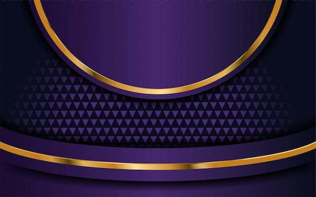 Fondo púrpura de lujo con capa superpuesta