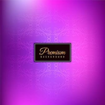 Fondo púrpura premium con estilo abstracto
