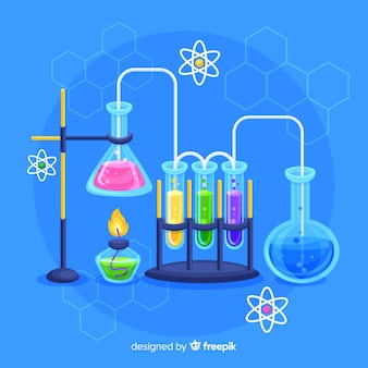 Fondo de química