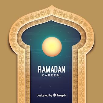 Fondo de ramadán flat