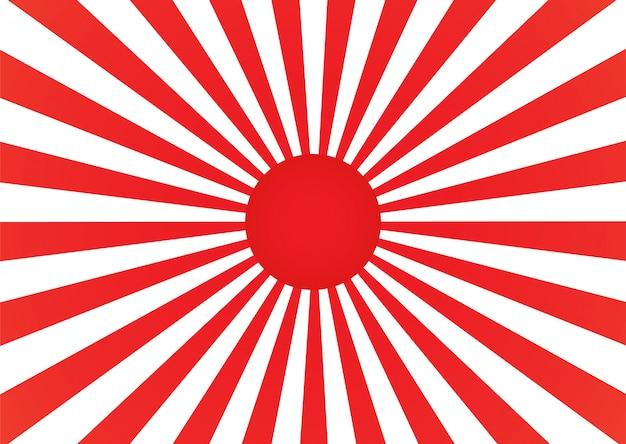 Fondo rayado rojo y blanco abstracto
