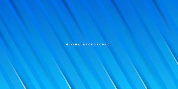 Fondo de rayas azules degradado
