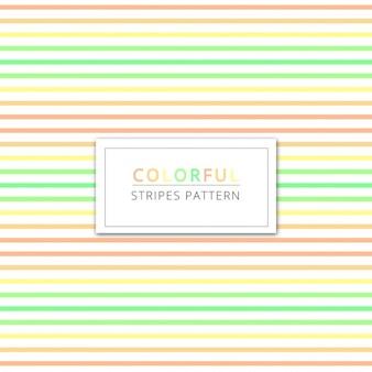 Fondo con rayas de colores