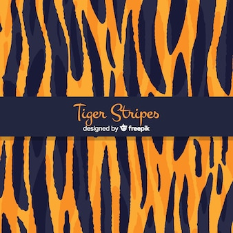 Fondo de rayas de tigre