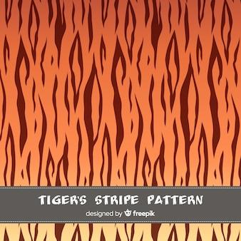 Fondo rayas tigre