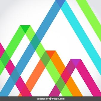 Fondo con las rayas translúcidos fluor