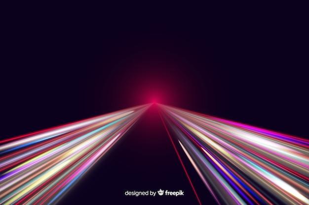 Fondo de rayos de luz