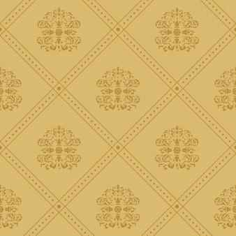 Fondo real victoriano. patrón en estilo barroco vintage,