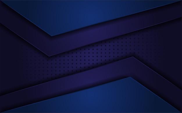 Fondo realista abstracto azul oscuro