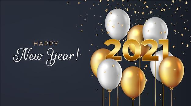 Fondo realista año nuevo 2021