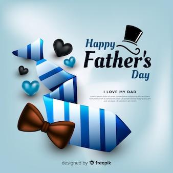 Fondo realista del día del padre