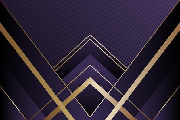 Fondo realista formas geométricas elegantes