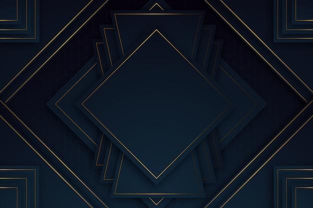 Fondo realista modelos geométricos elegantes