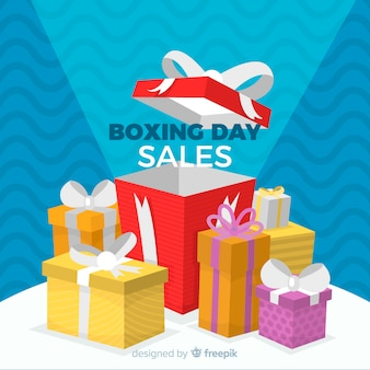 Fondo de rebajas boxing day