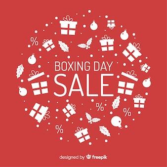 Fondo de rebajas boxing day
