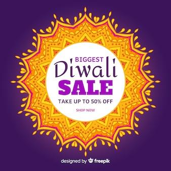 Fondo de rebajas de diwali