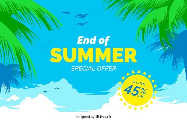 Fondo de rebajas de fin de verano
