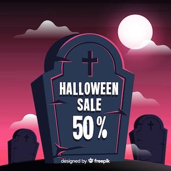 Fondo de rebajas de halloween