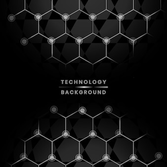 Fondo de redes y tecnología.