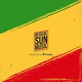 Fondo reggae bandera