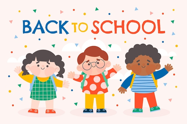 Fondo de regreso a la escuela