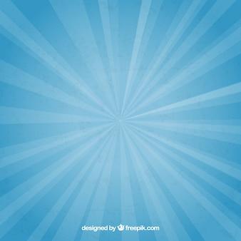 Fondo del resplandor solar retro colorido