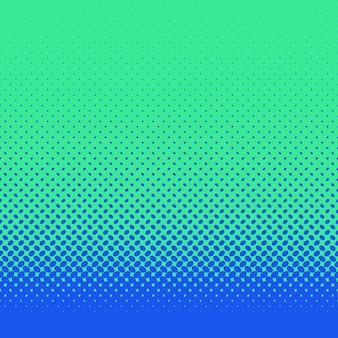 Fondo retro abstracto del patrón de elipse de semitonos - diseño vectorial con puntos elípticos diagonales